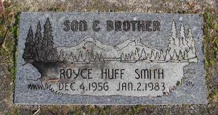 SMITH, ROYCE HUFF - Polk County, Oregon | ROYCE HUFF SMITH - Oregon Gravestone Photos