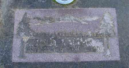 SNYDER, LESLIE L - Polk County, Oregon   LESLIE L SNYDER - Oregon Gravestone Photos