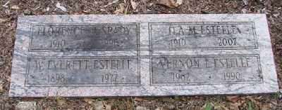 ESTELLE, W EVERETT - Polk County, Oregon | W EVERETT ESTELLE - Oregon Gravestone Photos