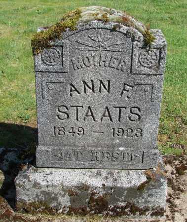 BURNS, ANN FRANCES - Polk County, Oregon | ANN FRANCES BURNS - Oregon Gravestone Photos