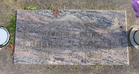 STAGGS, AUBREY J - Polk County, Oregon   AUBREY J STAGGS - Oregon Gravestone Photos