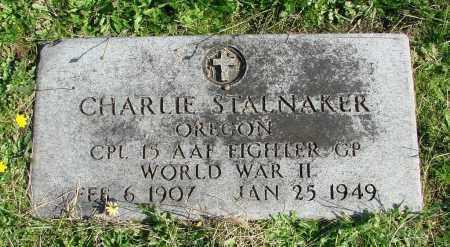 STALNAKER, CHARLIE - Polk County, Oregon | CHARLIE STALNAKER - Oregon Gravestone Photos