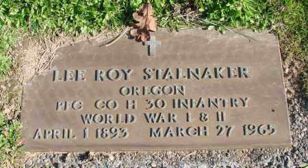 STALNAKER, LEE ROY - Polk County, Oregon | LEE ROY STALNAKER - Oregon Gravestone Photos