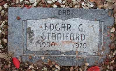 STANIFORD, EDGAR C - Polk County, Oregon | EDGAR C STANIFORD - Oregon Gravestone Photos