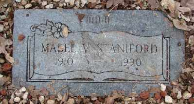 STANIFORD, MABEL V - Polk County, Oregon | MABEL V STANIFORD - Oregon Gravestone Photos