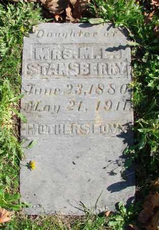 STANSBERRY, DAUGHTER - Polk County, Oregon | DAUGHTER STANSBERRY - Oregon Gravestone Photos