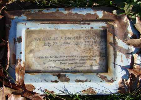 STEDWELL, NICHOLAS EDWARD - Polk County, Oregon | NICHOLAS EDWARD STEDWELL - Oregon Gravestone Photos