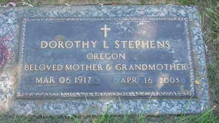 STEPHENS, DOROTHY L - Polk County, Oregon | DOROTHY L STEPHENS - Oregon Gravestone Photos
