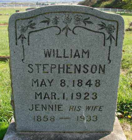 STEPHENSON, WILLIAM - Polk County, Oregon   WILLIAM STEPHENSON - Oregon Gravestone Photos