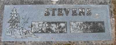 STEVENS, ANNA MARIE - Polk County, Oregon | ANNA MARIE STEVENS - Oregon Gravestone Photos