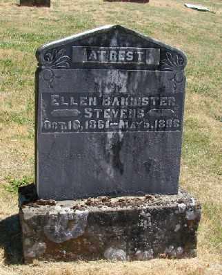 BANNISTER, ELLEN - Polk County, Oregon | ELLEN BANNISTER - Oregon Gravestone Photos