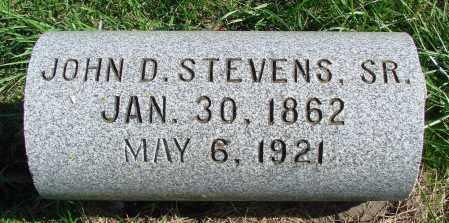 STEVENS, JOHN D., SR - Polk County, Oregon | JOHN D., SR STEVENS - Oregon Gravestone Photos