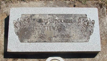 STOCKWELL, AGNES - Polk County, Oregon | AGNES STOCKWELL - Oregon Gravestone Photos