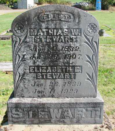 STEWART, MATHIAS W - Polk County, Oregon | MATHIAS W STEWART - Oregon Gravestone Photos