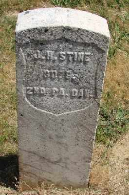 STINE (CW), J H - Polk County, Oregon   J H STINE (CW) - Oregon Gravestone Photos