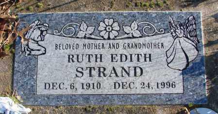 STRAND, RUTH EDITH - Polk County, Oregon | RUTH EDITH STRAND - Oregon Gravestone Photos