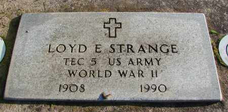STRANGE (WWII), LOYD E - Polk County, Oregon | LOYD E STRANGE (WWII) - Oregon Gravestone Photos