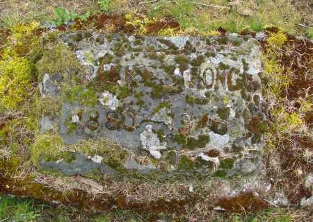 STRONG, FRANK E - Polk County, Oregon | FRANK E STRONG - Oregon Gravestone Photos
