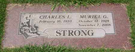 STRONG, CHARLES L - Polk County, Oregon | CHARLES L STRONG - Oregon Gravestone Photos