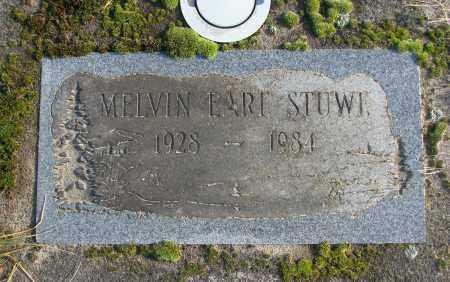 STUWE, MELVIN EARL - Polk County, Oregon | MELVIN EARL STUWE - Oregon Gravestone Photos