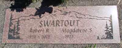 SWARTOUT, MAGDALENE S - Polk County, Oregon   MAGDALENE S SWARTOUT - Oregon Gravestone Photos