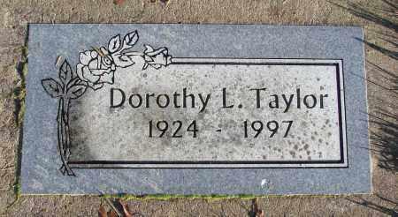 TAYLOR, DOROTHY L - Polk County, Oregon   DOROTHY L TAYLOR - Oregon Gravestone Photos