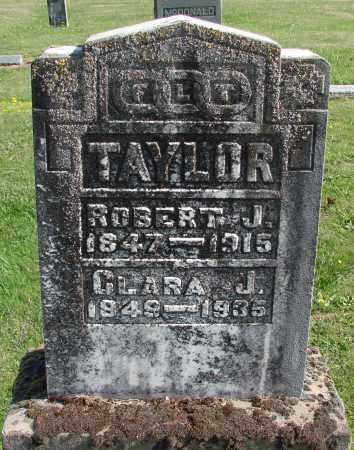 TAYLOR, CLARA J - Polk County, Oregon | CLARA J TAYLOR - Oregon Gravestone Photos