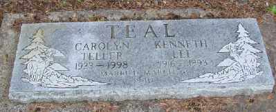 TELLER TEAL, CAROLYN MARIE - Polk County, Oregon | CAROLYN MARIE TELLER TEAL - Oregon Gravestone Photos