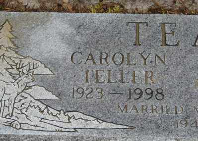 TELLER TEAL, CAROLYN MARIE - Polk County, Oregon | CAROLYN MARIE TELLER TEAL - Oregon Gravestone Photos