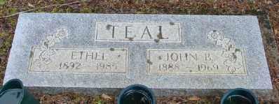 LEE TEAL, ETHEL - Polk County, Oregon | ETHEL LEE TEAL - Oregon Gravestone Photos