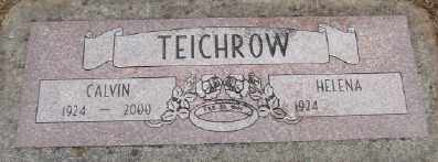 TEICHROW, CALVIN - Polk County, Oregon   CALVIN TEICHROW - Oregon Gravestone Photos