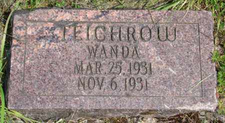 TEICHROW, WANDA - Polk County, Oregon | WANDA TEICHROW - Oregon Gravestone Photos