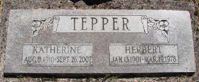 TEPPER, KATHERINE - Polk County, Oregon | KATHERINE TEPPER - Oregon Gravestone Photos