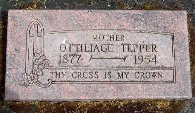 TEPPER, OTTILIAGE - Polk County, Oregon | OTTILIAGE TEPPER - Oregon Gravestone Photos