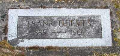 THIESIES, FRANK - Polk County, Oregon   FRANK THIESIES - Oregon Gravestone Photos