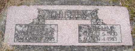 THIESIES, WILLIAM - Polk County, Oregon | WILLIAM THIESIES - Oregon Gravestone Photos