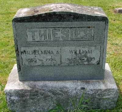 THIESIES, WILLIAM - Polk County, Oregon   WILLIAM THIESIES - Oregon Gravestone Photos