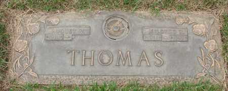 THOMAS, AUGUST V - Polk County, Oregon | AUGUST V THOMAS - Oregon Gravestone Photos