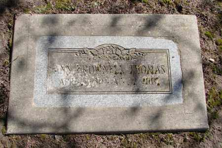 THOMAS, ANN - Polk County, Oregon | ANN THOMAS - Oregon Gravestone Photos