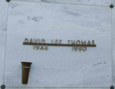 THOMAS, DAVID LEE - Polk County, Oregon | DAVID LEE THOMAS - Oregon Gravestone Photos