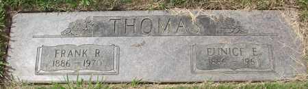 THOMAS, EUNICE E - Polk County, Oregon | EUNICE E THOMAS - Oregon Gravestone Photos
