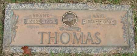 THOMAS, MAYE - Polk County, Oregon | MAYE THOMAS - Oregon Gravestone Photos