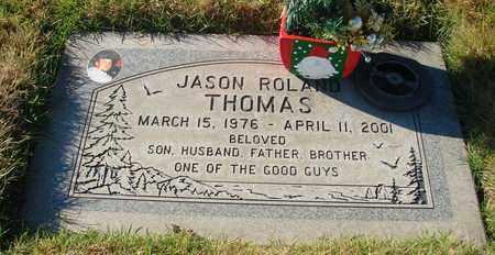 THOMAS, JASON ROLAND - Polk County, Oregon   JASON ROLAND THOMAS - Oregon Gravestone Photos