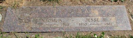 THOMAS, NAOMI A - Polk County, Oregon   NAOMI A THOMAS - Oregon Gravestone Photos