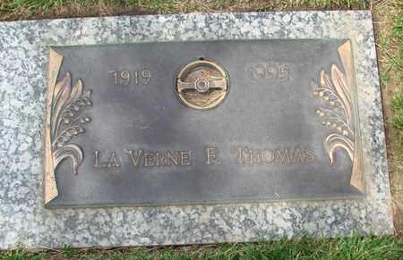 THOMAS, LA VERNE F - Polk County, Oregon | LA VERNE F THOMAS - Oregon Gravestone Photos