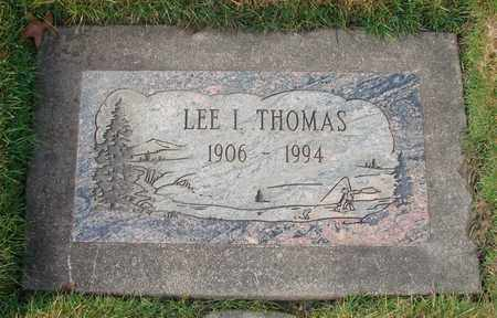 THOMAS, LEE IRVING - Polk County, Oregon | LEE IRVING THOMAS - Oregon Gravestone Photos