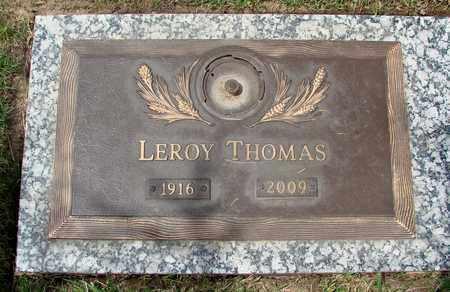 THOMAS, LEROY - Polk County, Oregon | LEROY THOMAS - Oregon Gravestone Photos