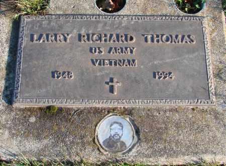 THOMAS, LARRY RICHARD - Polk County, Oregon | LARRY RICHARD THOMAS - Oregon Gravestone Photos