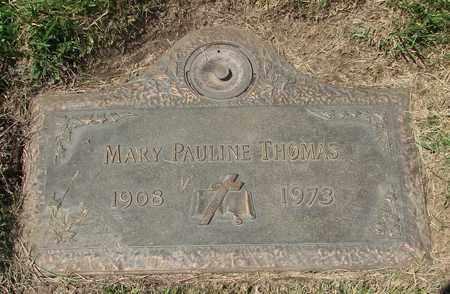 THOMAS, MARY PAULINE - Polk County, Oregon | MARY PAULINE THOMAS - Oregon Gravestone Photos
