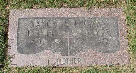 THOMAS, NANCY JO - Polk County, Oregon | NANCY JO THOMAS - Oregon Gravestone Photos